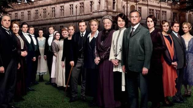 The cast of 'Downton Abbey' Season 4 -- PBS