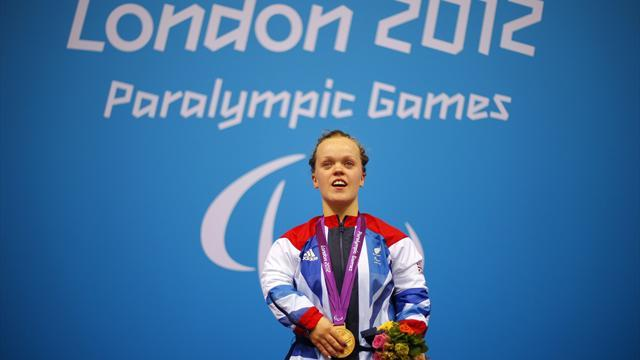 Paralympics - Simmonds smashes WR to take gold