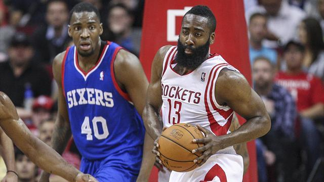 Basketball - Sixers sink to record-breaking low with defeat to Rockets