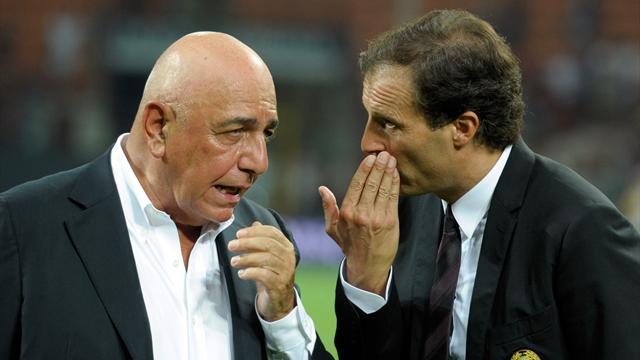 "Serie A - Galliani: ""Milan favorito nel derby? No"""