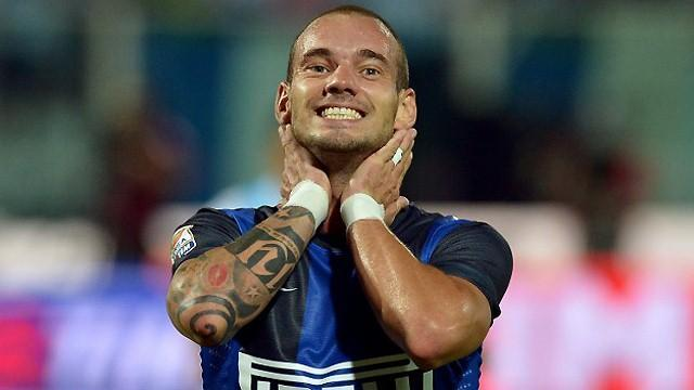 World Football - Inter tell Sneijder to make his mind up