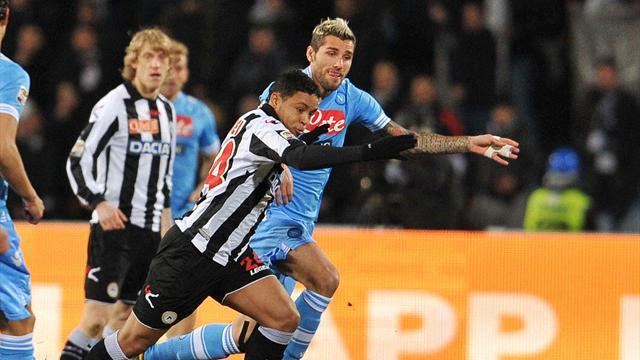 Serie A - Napoli held by resolute Udinese