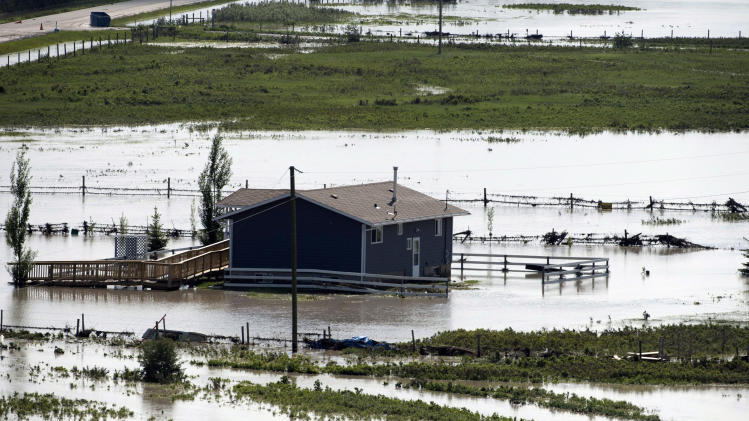 Flooding in Canada city less than feared