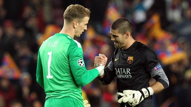 Liga - Valdes close to Man City - report