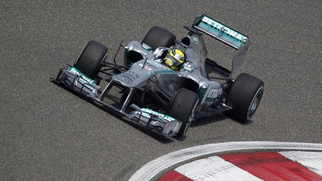 Formula 1 - Half Mercedes team on '14 car by May