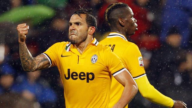 Serie A - Juve overcome early scare to move closer to title