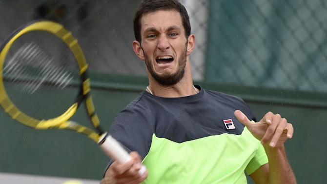 French Open - Ward positive despite Roland Garros defeat