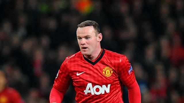 Football - Rooney starts for United