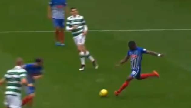 SouleymaneCoulibaly may not be a household name, but he should be after this wonder strike! Spurs fans may recognise the name as the young Ivorian used to be on the books at Tottenham, however hefailedto impress and was sent on several loan spells before landing apermanentmove to Scottish outfitKilmarnock. The21-year-oldattacker lined up for his side in Saturday's clash with Celtic and opened the scoring in truly emphatic style in the 32nd minute. WHAT A GOAL FROM COULIBALY!!!!!!! —...