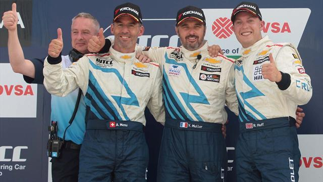 Menu 'needs luck' to win WTCC title