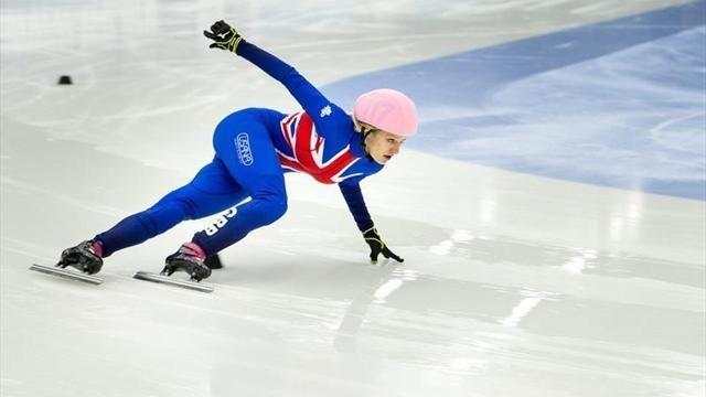 Short Track - Christie misses out on individual medal at European Championships