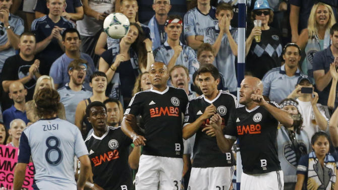 MLS Union Sporting KC Soccer