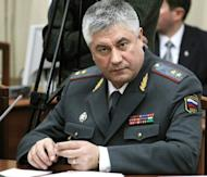 Russian Interior Minister Vladimir Kolokoltsev is shown in 2010. Russia's interior ministry on Monday denied ever issuing a statement saying it had confirmation that Syrian President Bashar al-Assad had been killed together with his wife