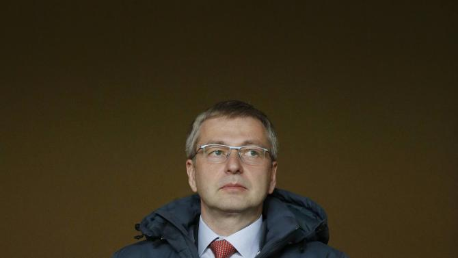 AS Monaco Football Club President Rybolovlev attends Monaco's Ligue 1 soccer match against Paris St Germain at Louis II stadium in Monaco