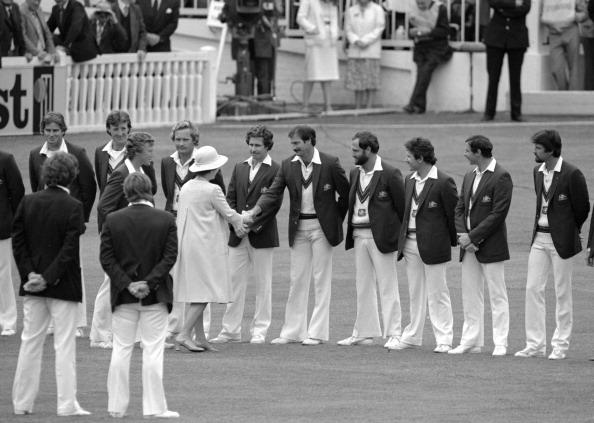2nd Test England v Australia Lord's July 1981