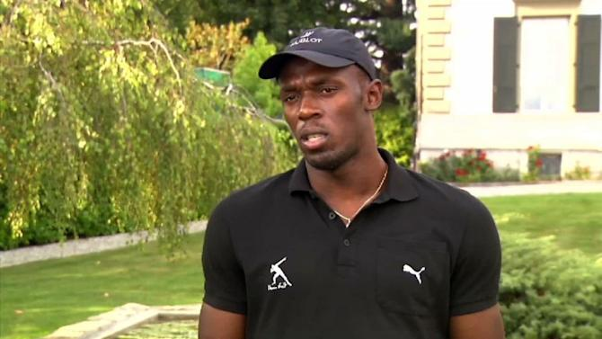 Bolt on the Olympics and his future plans