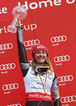 Mikaela Shiffrin of US earns 5th WCup slalom win