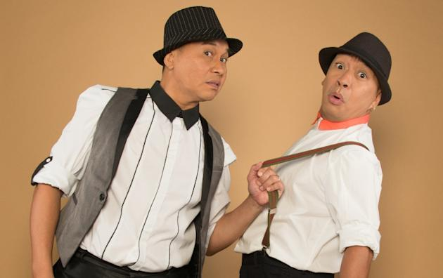 Jose Manalo and Wally Bayola (Contributed photo)