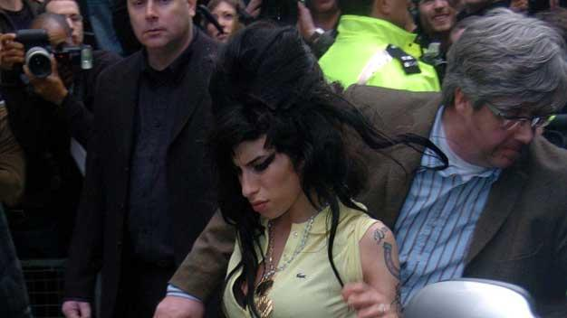 Amy Winehouse Police