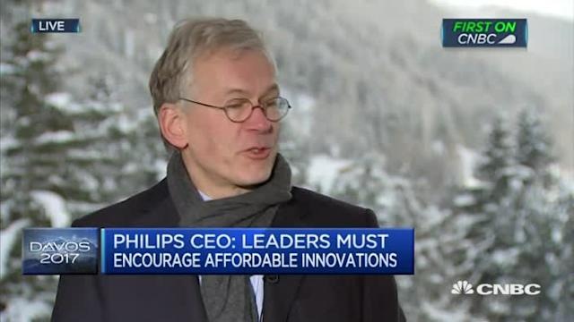 European leaders must be inclusive: Royal Philips CEO