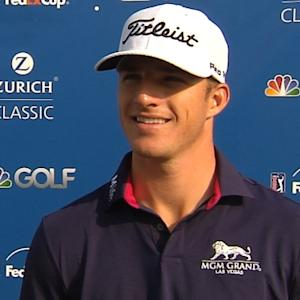 Morgan Hoffmann interview after Round 2 of the Zurich Classic