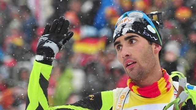 Biathlon - Fourcade reclaims top spot
