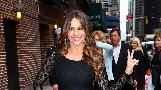 Sofia Vergara David Letterman
