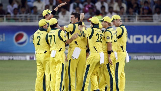 Consolation win for Australia against Pakistan