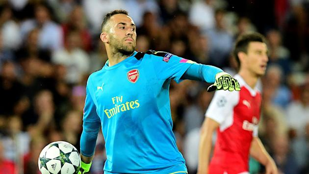 Arsene Wenger will resist the temptation to hand Petr Cech a Champions League recall, confirming David Ospina will start at Bayern Munich.
