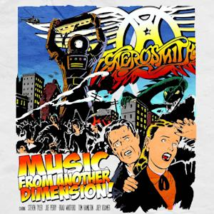 "This CD cover image released by Columbia Records shows the latest release by Aerosmith, ""Music from Another Dimension.""  (AP Photo/Columbia Records)"
