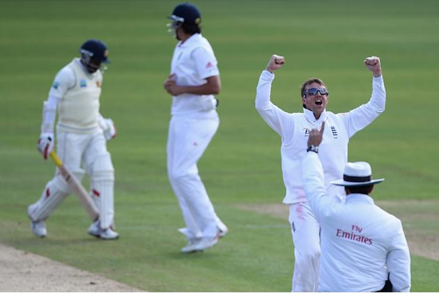 England v Sri Lanka: 1st npower Test - Day Five