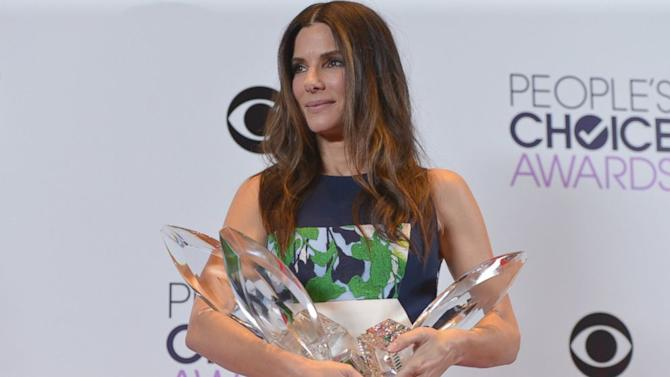People's Choice Awards 2014: Sandra Bullock Wins Big