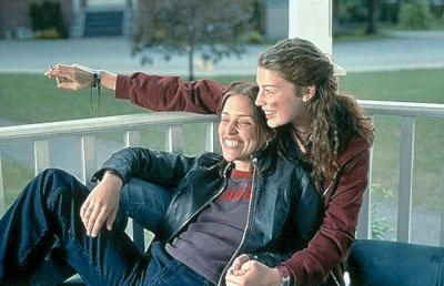 Piper Perabo and Jessica Pare in Lions Gate's Lost and Delirious