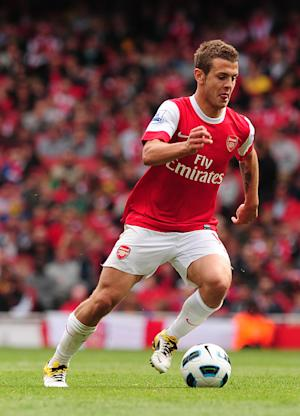 Jack Wilshere has been sidelined by an ankle injury
