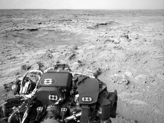 Thanksgiving on Mars: Working Holiday for Curiosity Rover