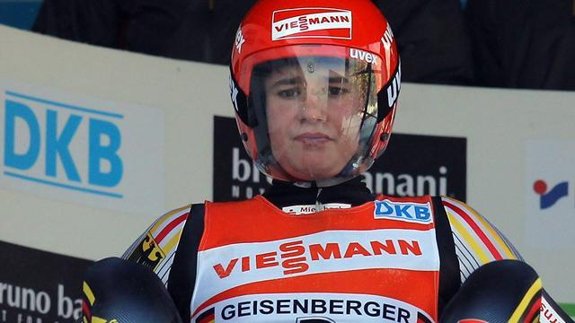 Luge - Geisenberger secures World Cup title in Altenberg
