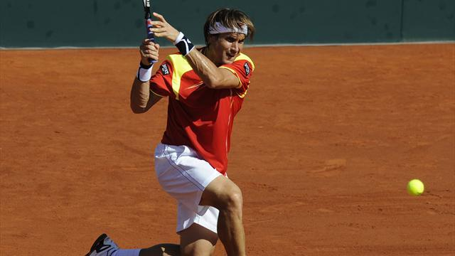 Ferrer, Almagro put Spain in control against US
