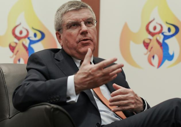 "International Olympic Committee (IOC) president Thomas Bach says all candidates for the FIFA presidenct must embrace ""transparency"""