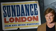 US actor Robert Redford, president and founder of the Sundance Institute, opens the Sundance London film and music festival at the 02 Arena in east London