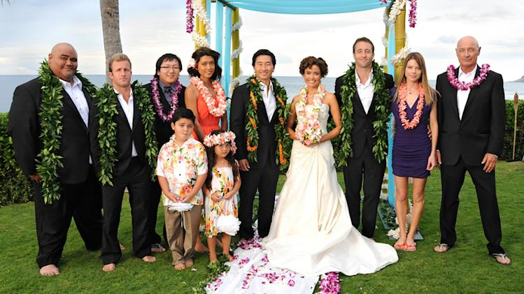 "TV Weddings - Malia Waincroft and Lt. Chin Ho Kelly: ""Hawaii 5-0"" (2011)"