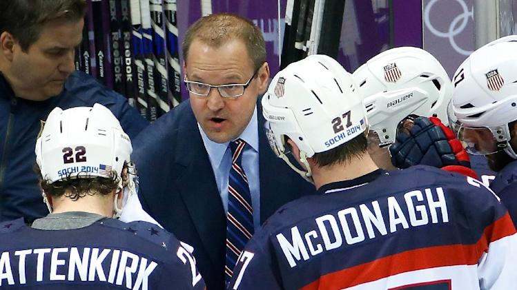 Bylsma back with Penguins after Sochi struggles