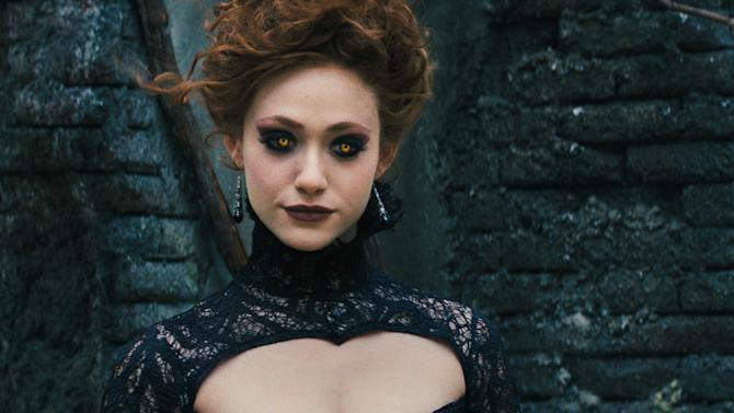 """This film image released by Warner Bros. Pictures shows Emmy Rossum in a scene from """"Beautiful Creatures.""""  (AP Photo/Warner Bros. Pictures)"""