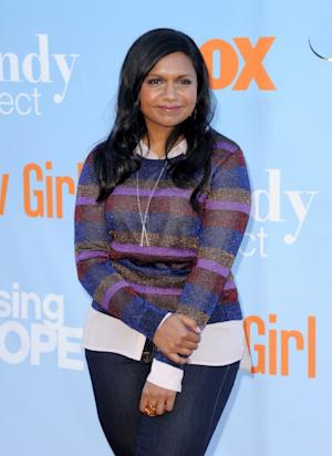 Mindy Kaling of 'The Mindy Project' arrives at a screening of Fox TV's new Tuesday night comedies at Santa Monica College's Broad Stage in Santa Monica, Calif. on August 26, 2012 -- Getty Images