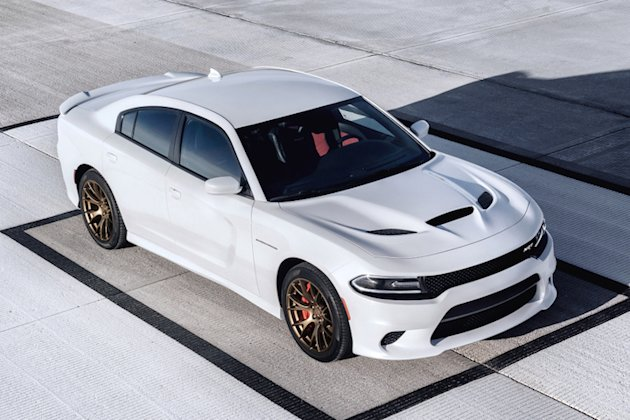 Charger Hellcat White photo
