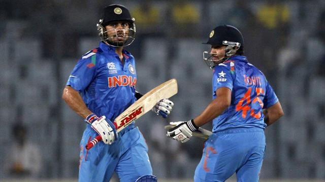 Cricket - India beat West Indies to inch closer to semi-final spot