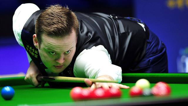 Snooker - Murphy dumps out Robertson