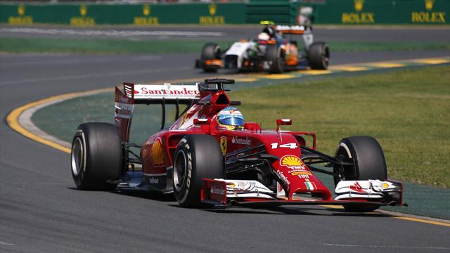 Formula 1 - Alonso fastest in first practice in Australia