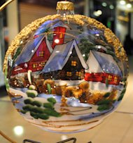 Does your family exchange Christmas ornaments each year?