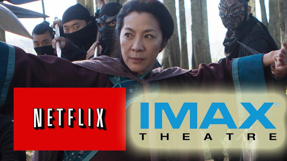 Crouching Tiger Sequel Headed To Netflix & Imax