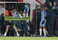 Manchester City lose Gabriel Jesus to injury at Bournemouth as Sergio Aguero gets chance